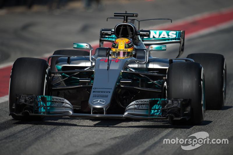 Льюис Хэмилтон, Mercedes (номер 44)