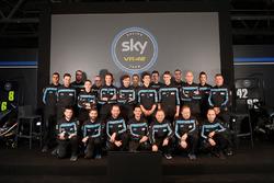 Sky Racing Team VR46 drivers group photo