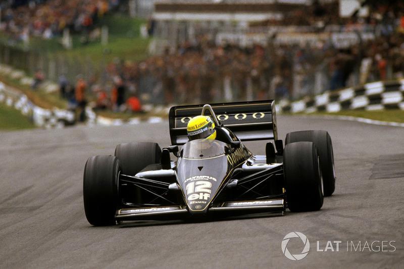#21: Ayrton Senna, Lotus 97T, Brands Hatch 1985: 1:07,169