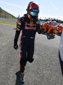 Carlos Sainz Jr., Scuderia Toro Rosso après son abandon