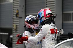 Lucas Auer, Mercedes-AMG Team HWA, Mercedes-AMG C63 DTM; Robert Wickens, Mercedes-AMG Team HWA, Mercedes-AMG C63 DTM