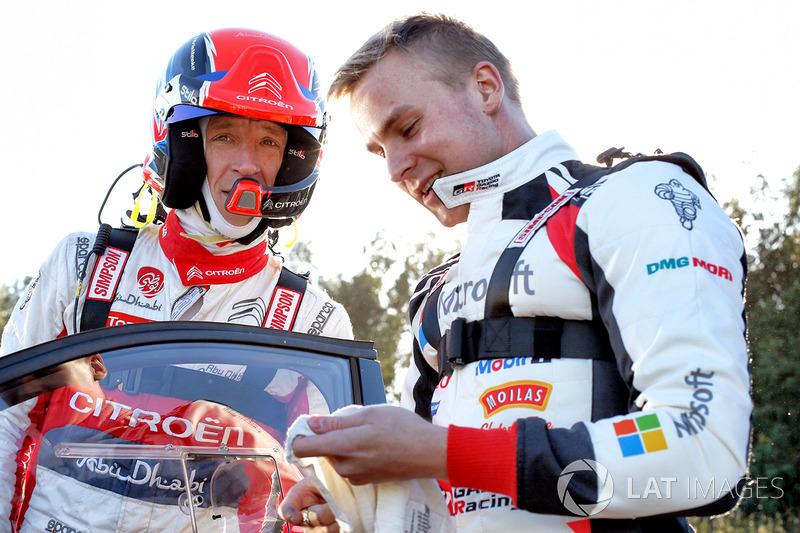 Kris Meeke, Citroën World Rally Team, Esapekka Lappi, Toyota Racing