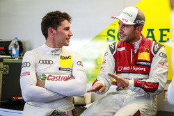 Loic Duval, Audi Sport Team Phoenix, Audi RS 5 DTM y Mike Rockenfeller, Audi Sport Team Phoenix, Audi RS 5 DTM