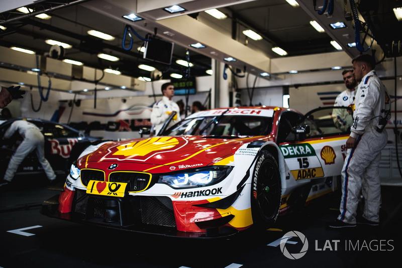 Машина Аугусто Фарфуса, BMW Team RMG, BMW M4 DTM