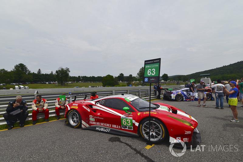 #63 Scuderia Corsa Ferrari 488 GT3