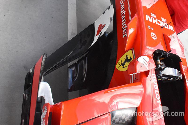 Ferrari SF70-H sidepod detail