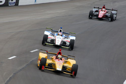 Ryan Hunter-Reay, Andretti Autosport Honda, Ed Jones, Dale Coyne Racing Honda