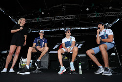 Esteban Ocon, Sahara Force India F1, Felipe Massa, Williams and Lance Stroll, Williams on stage
