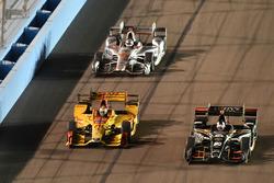 Эд Карпентер, Ed Carpenter Racing Chevrolet, и Райан Хантер-Рей, Andretti Autosport Honda