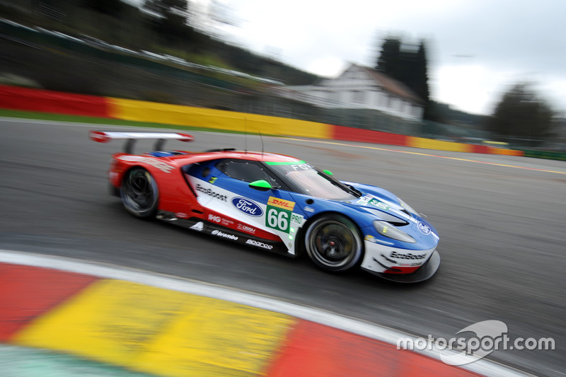 2. GTE-Pro: #66 Ford Chip Ganassi Racing, Ford GT