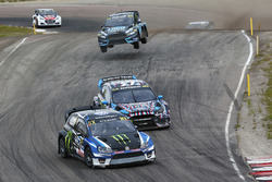 Petter Solberg, PSRX Volkswagen Sweden VW Polo Gti, Andreas Bakkerud, Hoonigan Racing Division Ford