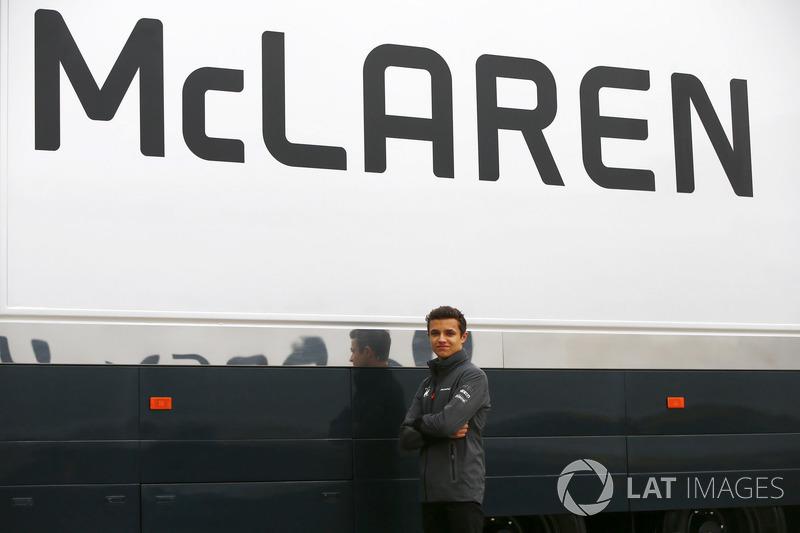 Lando Norris, McLaren-Junior