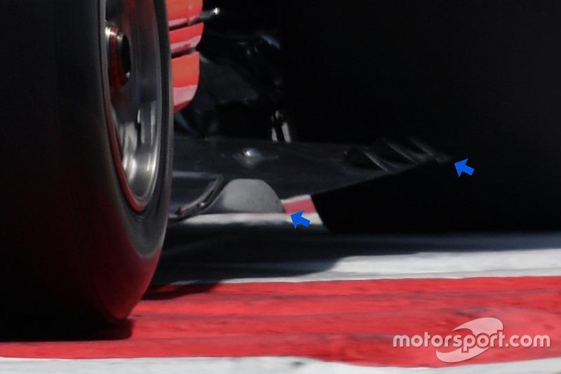 Днище Ferrari SF70H