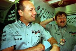 Ron Dennis et Norbert Haug