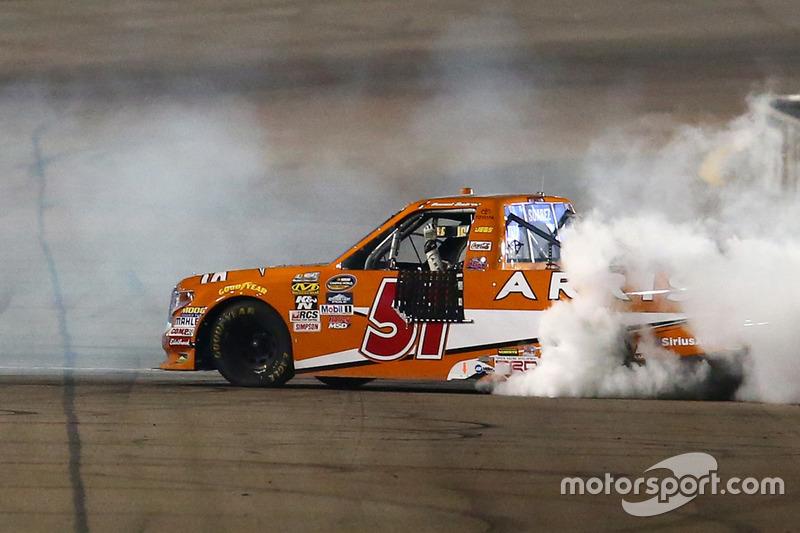 Sieger Daniel Suarez, Kyle Busch Motorsports, Toyota