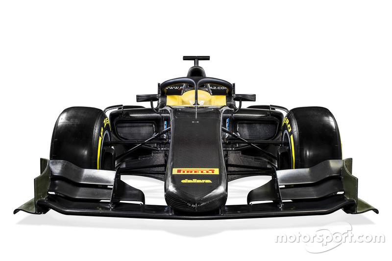Neues Formel-2-Auto für 2018