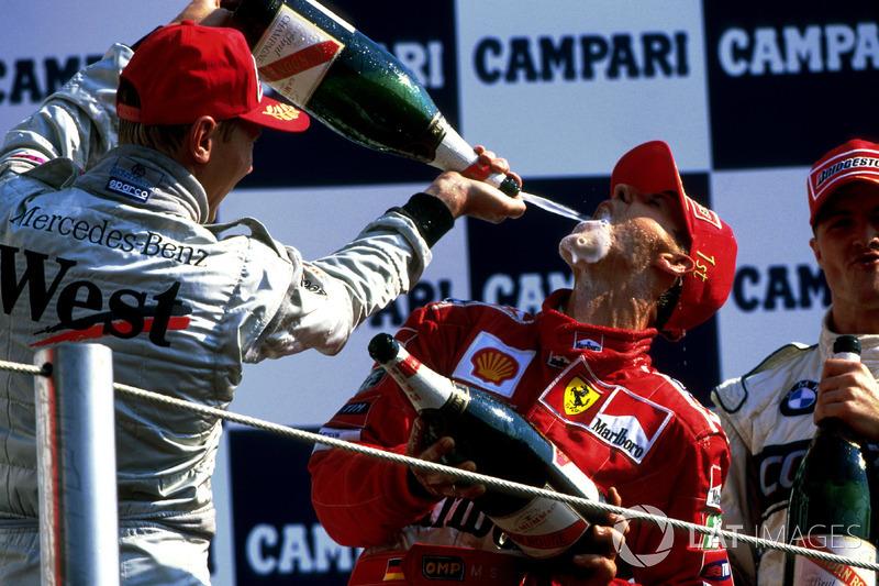 Campanhas vencedoras: 1994 – 8/16 vitórias, 1995 – 9/17 vitórias, 2000 – 9/17 vitórias, 2001 – 9/17 vitórias