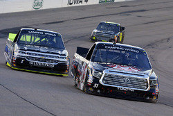 Harrison Burton, Toyota, Jordan Anderson, Rick Ware Motorsports Chevrolet
