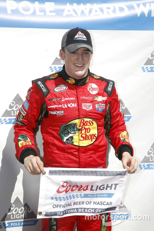 Le poleman Ty Dillon, Richard Childress Racing Chevrolet