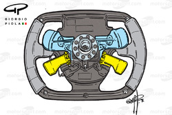 Ferrari Steering wheel, 1995-1996