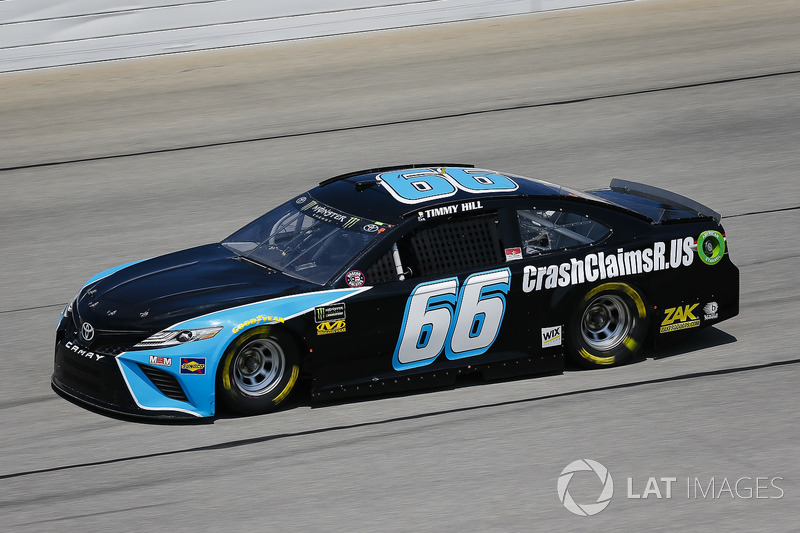 Timmy Hill, Motorsports Business Management, Toyota Camry CrashClaimsR.us