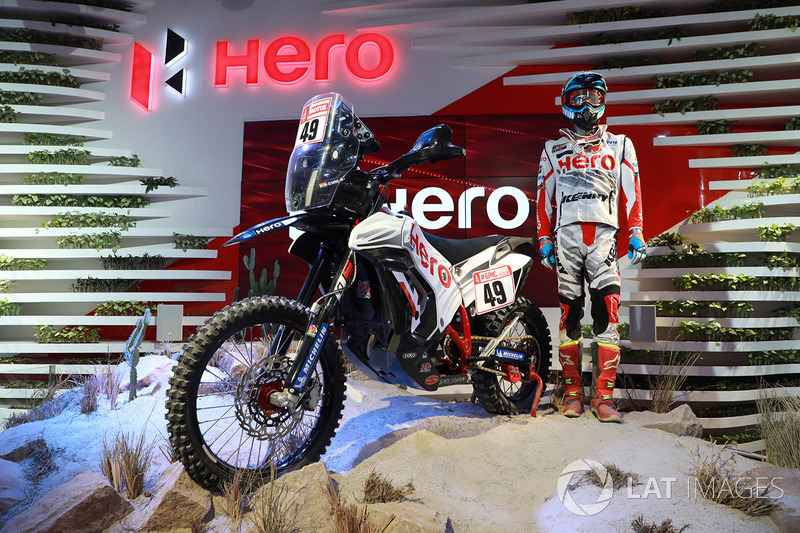 Hero MotoSports Team Rally: CS Santosh bike