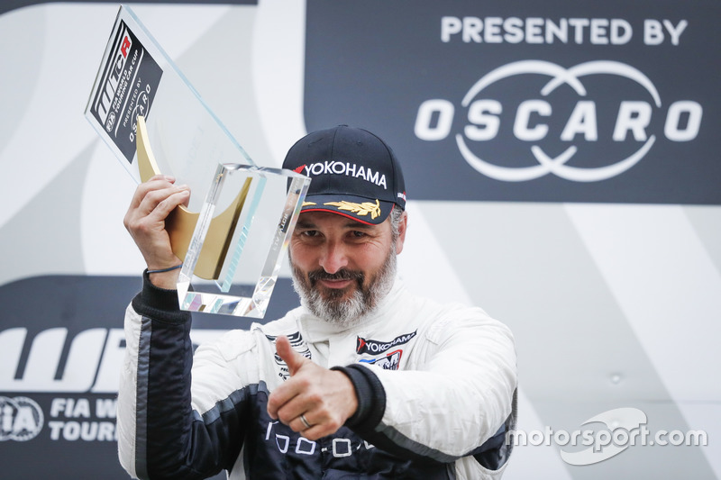 Podio: el ganador, Yvan Muller, YMR Hyundai i30 N TCR