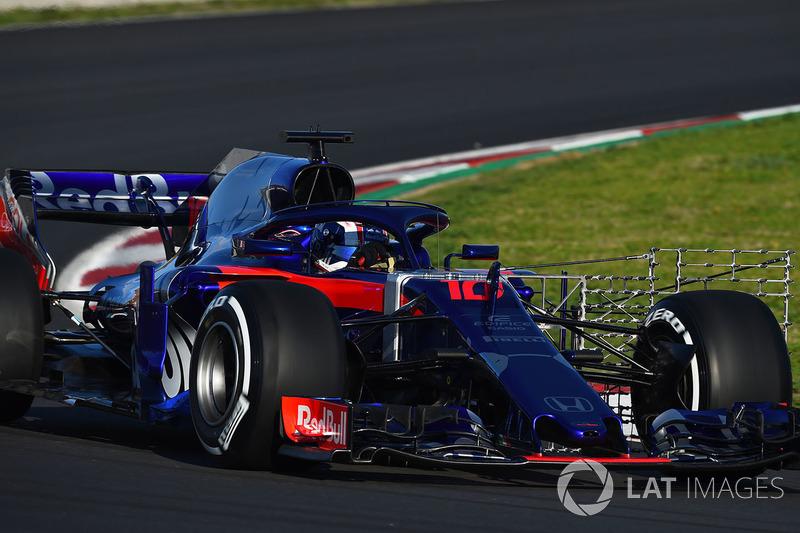 Toro Rosso STR13: Sensoren