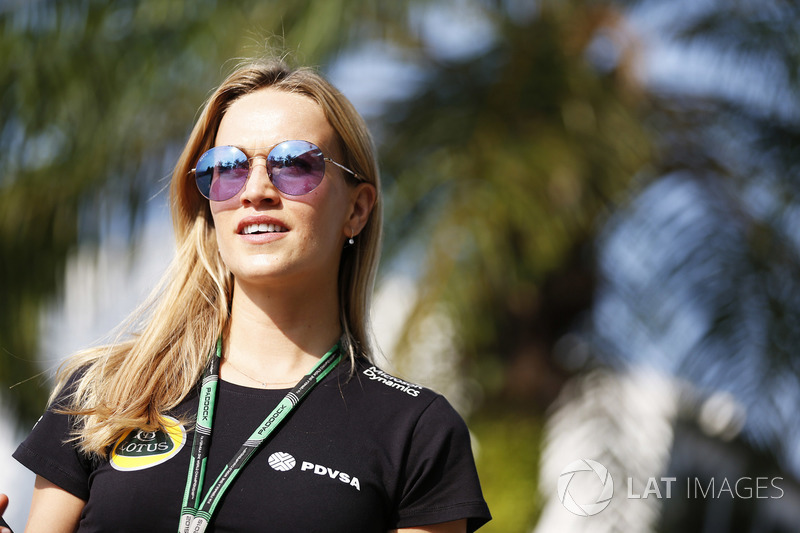 Carmen Jorda, Development Driver, Lotus F1 Team