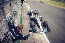 Льюіс Хемілтон, Валттері Боттас, Mercedes-Benz F1 W08