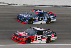 Austin Dillon, Richard Childress Racing Chevrolet, Brennan Poole, Chip Ganassi Racing Chevrolet