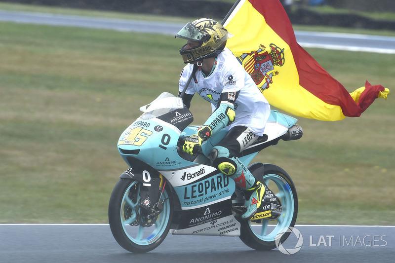 Ganador de la carrera Joan Mir, Leopard Racing