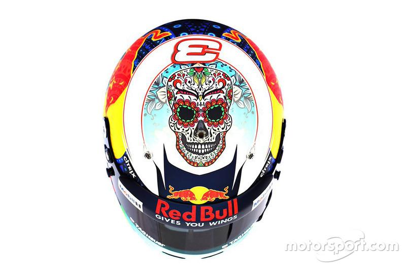 Capacete especial de Daniel Ricciardo, Red Bull Racing