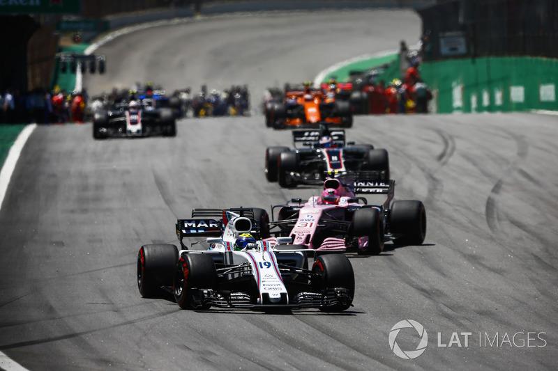 IMPORTANTE: as estatísticas abordam as corridas em que os pilotos estiveram na classificação final – ou seja, há casos em que competidores se retiraram nas voltas finais, mas foram considerados classificados.