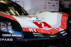 Detalle frontal del #2 Porsche Team Porsche 919 Hybrid
