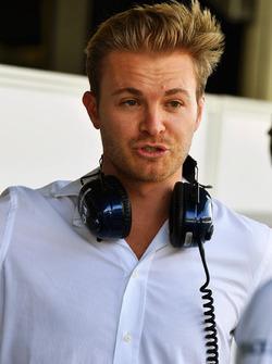 Nico Rosberg, ambassadeur Mercedes-Benz