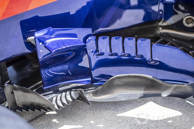 Scuderia Toro Rosso STR13 bargeboards
