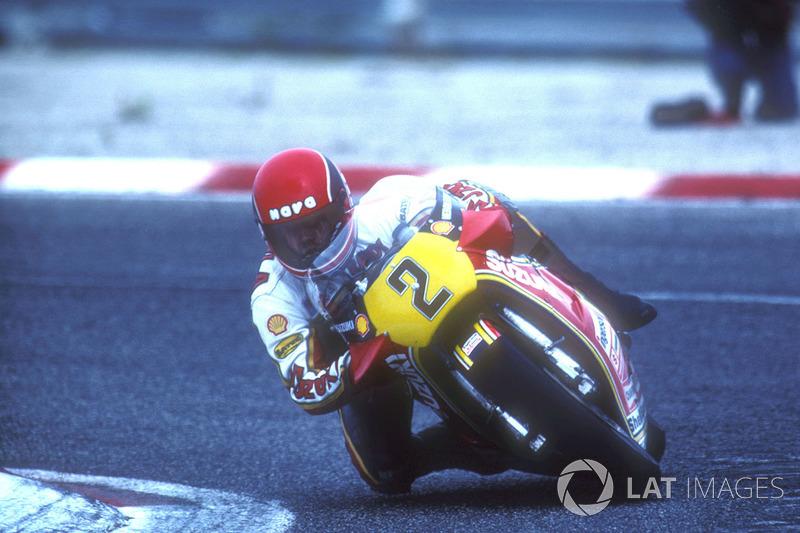 Randy Mamola, Yamaha.