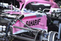 Suspensión delantera del Force India VJM11