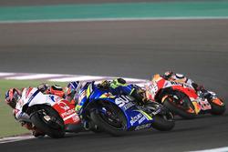 Alex Rins, Team Suzuki MotoGP, Danilo Petrucci, Pramac Racing, Dani Pedrosa, Repsol Honda Team