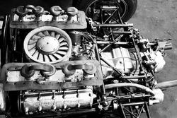 Il motore piatto raffreddato ad aria della Porsche 804