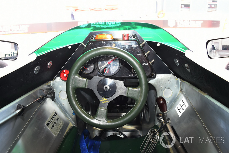 Williams FW08 cockpit