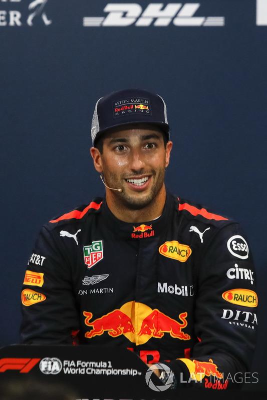 Daniel Ricciardo, Red Bull Racing nella conferenza stampa