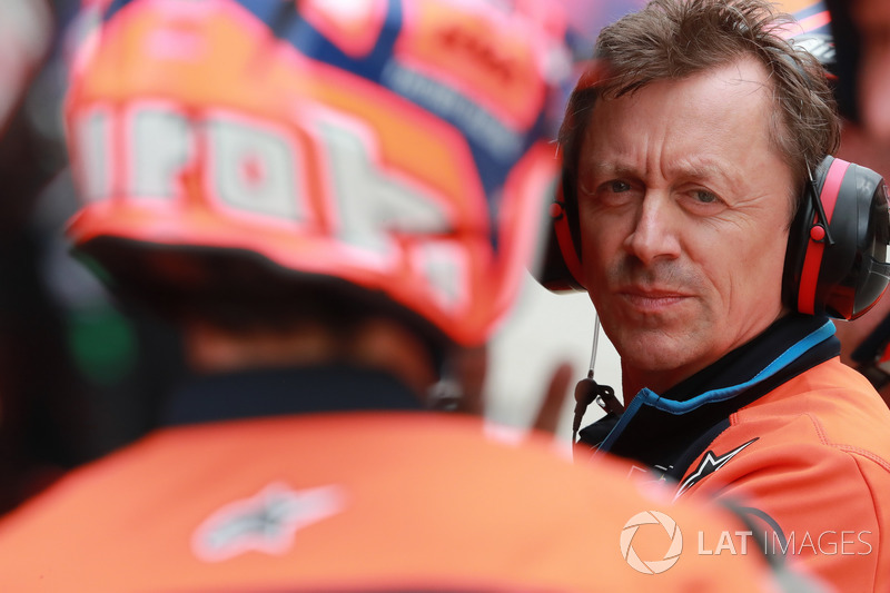 Mike Leitner, Red Bull KTM Factory Racing, antiguo ingeniero de pista de Pedrosa y ahora Team Principal del equipo autríaco