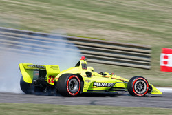 Simon Pagenaud, Team Penske Chevrolet, testacoda