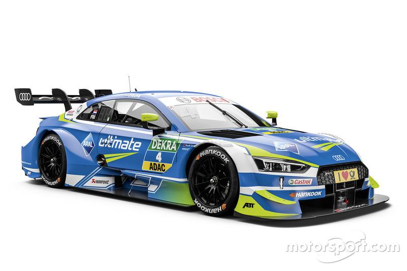#4 Robin Frijns, Audi Sport Team Abt Sportsline Audi RS5 DTM