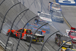 Cody Coughlin, ThorSport Racing Toyota wrecks