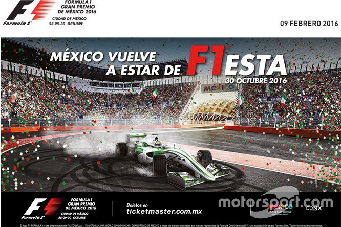 Poster del GP de México 2016