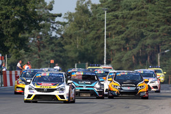 Zolder, partenza della Qualifying Race