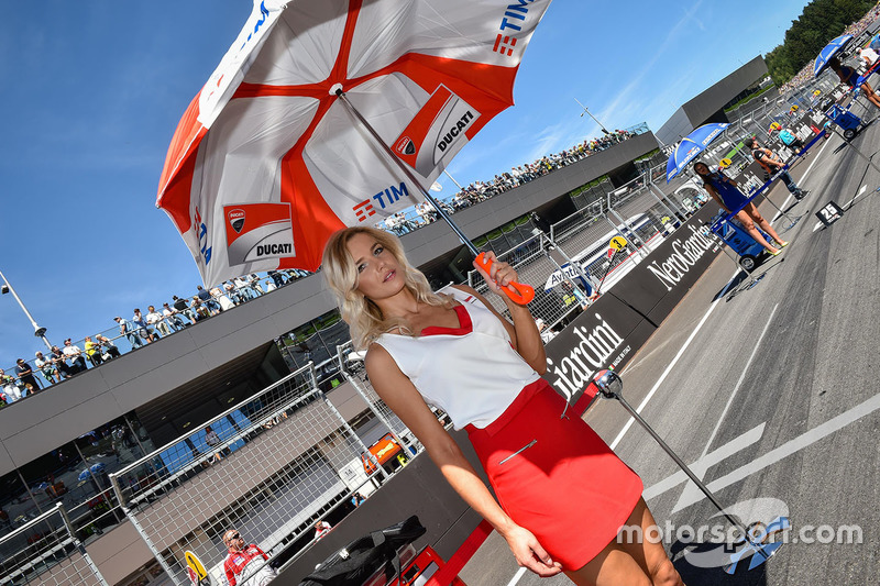 Lovely Ducati Team girl